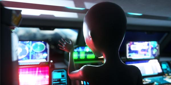 Risultati immagini per alien conspiracy, technology